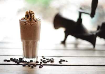 Chocolate Chip Cream Frappe - Papilas Coffee House